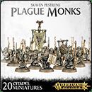 Warhammer Age of Sigmar. Skaven Pestilens: Plague Monks