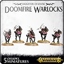 Warhammer Age of Sigmar. Daughters of Khaine: Doomfire Warlocks