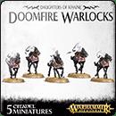 Warhammer Age of Sigmar. Daughters of Khaine: Doomfire Warlocks
