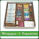 Органайзер для настольной игры Wingspan + дополнения