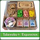 Органайзер для настольной игры Takenoko + дополнения