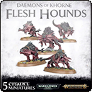 Warhammer Age of Sigmar (Warhammer 40000). Daemons of Khorne: Flesh Hounds