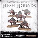 Warhammer Age of Sigmar (Warhammer 40000). Daemons of Khorne: Flesh Hounds