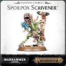 Warhammer Age of Sigmar (Warhammer 40000). Daemons of Nurgle: Spoilpox Scrivener