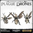 Warhammer Age of Sigmar (Warhammer 40000). Daemons of Nurgle: Plague Drones