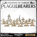 Warhammer Age of Sigmar (Warhammer 40000). Daemons of Nurgle: Plaguebearers