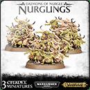 Warhammer Age of Sigmar (Warhammer 40000). Daemons of Nurgle: Nurglings