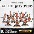 Warhammer Age of Sigmar. Fyreslayers: Vulkite Berzerkers