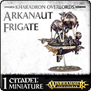 Warhammer Age of Sigmar. Kharadron Overlords: Arkanaut Frigate