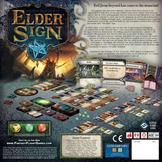 Настольная игра - Elder Sign