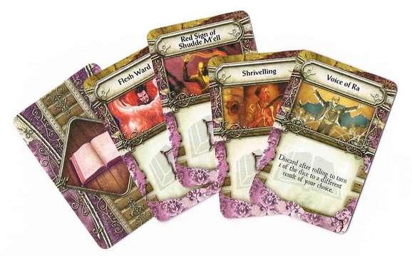 Настольная игра - Elder Sign. Карты