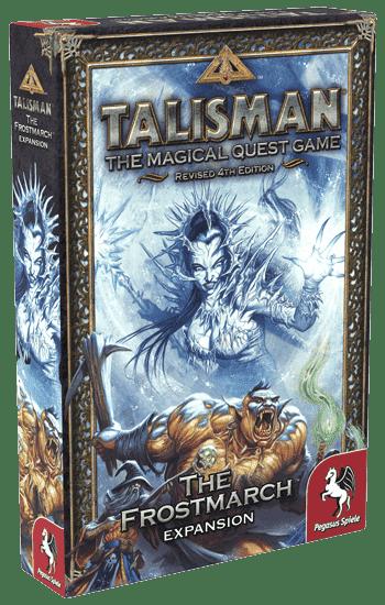 Настольная Игра Talisman (Revised 4th Edition): The Frostmarch (Наступление Мороза)
