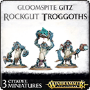 Warhammer Age of Sigmar. Gloomspite Gitz: Rockgut Troggoths