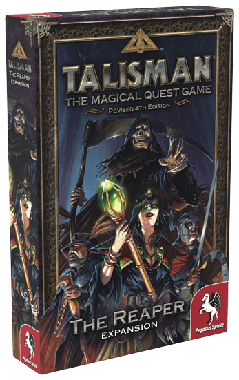 Настольная Игра Talisman (Revised 4th Edition): The Reaper (Смерть с косой)