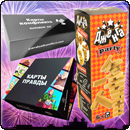 Комплект настільних ігор «Відривна / Божевільна компанія»