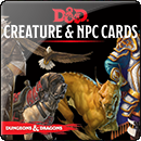Dungeons & Dragons. Monster Cards: NPCs & Creatures