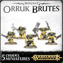Warhammer Age of Sigmar. Ironjawz: Orruk Brutes