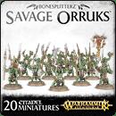 Warhammer Age of Sigmar. Bonesplitterz: Savage Orruks