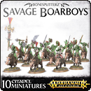 Warhammer Age of Sigmar. Bonesplitterz: Savage Boarboys
