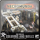 Necromunda: Zone Mortalis. Columns and Walls