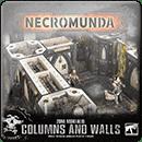 Necromunda: Zone Mortalis. Columns and Walls