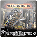 Necromunda: Zone Mortalis. Platforms and Stairs