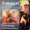 Magic: The Gathering: Core Set 2020. Planeswalker Deck. Chandra, Flame's Fury