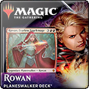 Magic: The Gathering: Throne of Eldraine. Planeswalker Deck. Rowan, Fearless Sparkmage