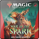 Magic: The Gathering: War of the Spark. Red Theme Booster