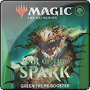Magic: The Gathering: War of the Spark. Green Theme Booster