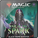 Magic: The Gathering: War of the Spark. Black Theme Booster