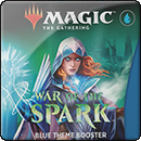 Magic: The Gathering: War of the Spark. Blue Theme Booster