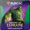 Magic: The Gathering. Throne of Eldraine Green Theme Booster