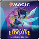 Magic: The Gathering. Throne of Eldraine Blue Theme Booster