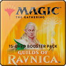 Magic: The Gathering: Guilds of Ravnica. Booster