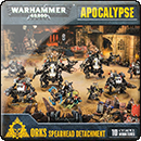 Warhammer 40000. Apocalypse: Orks Spearhead Detachment