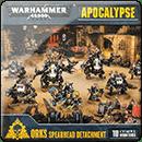 Warhammer 40000. Apocalypse: Orks Spearhead Detachment