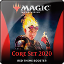 Magic: The Gathering. Core Set 2020 Red Theme Booster
