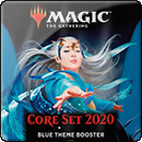 Magic: The Gathering. Core Set 2020 Blue Theme Booster