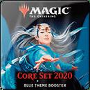 Magic: The Gathering. Core Set 2020 Blue Theme Booster