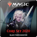 Magic: The Gathering. Core Set 2020 Black Theme Booster