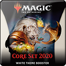 Magic: The Gathering. Core Set 2020 White Theme Booster