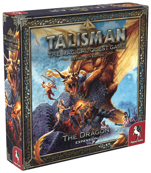 Настольная Игра Talisman (Revised 4th Edition): The Dragon (Дракон)