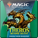 Magic: The Gathering. Theros Beyond Death Green Theme Booster