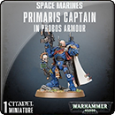 Warhammer 40000. Space Marines: Primaris Captain in Phobos Armour
