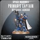 Warhammer 40000. Space Marines: Primaris Captain in Phobos Armour