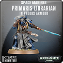 Warhammer 40000. Space Marines: Primaris Librarian in Phobos Armour