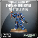 Warhammer 40000. Space Marines: Primaris Lieutenant with Power Sword