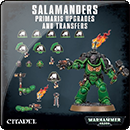 Warhammer 40000. Salamanders Primaris Upgrades and Transfers