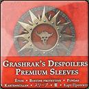Warhammer Underworlds. Beastgrave: Премиум Протекторы Для Карт Grashrak's Despoilers